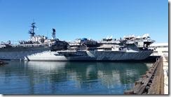 San Diego navy ships