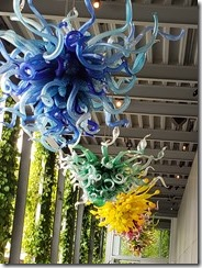 Chihuly Chandelier Walkway