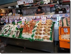 Fish store in Pike Market
