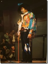 Jimi Hendrix Experience onstage