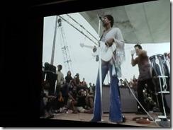 Jimi Hendrix on stage
