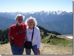 Tom and Joyce at Hurricane Ridge