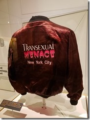 Transexual Menace - NYC jacket