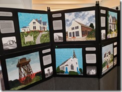 Kelly House quilt exhibition