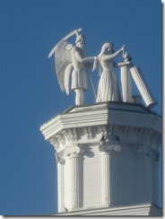 Mendo-Masonic Hall-sculpture